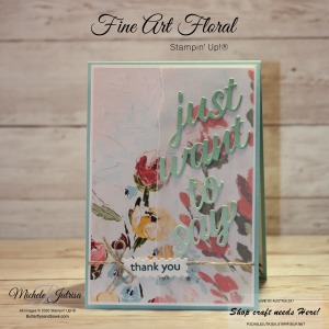 Fine Art Floral Suite  - Fine Art Floral Designer Series Paper and the Floral Gallery Dies