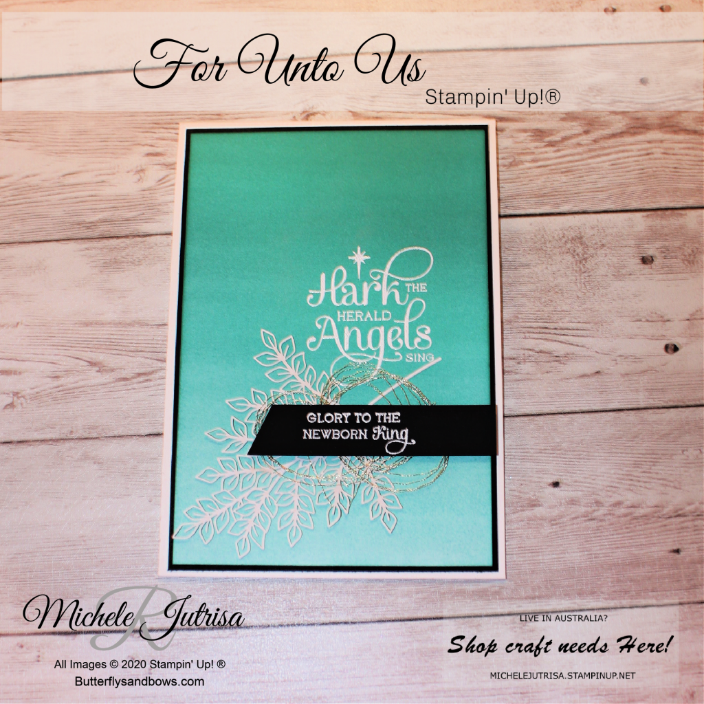 For Unto Us by Stampin' Up!
