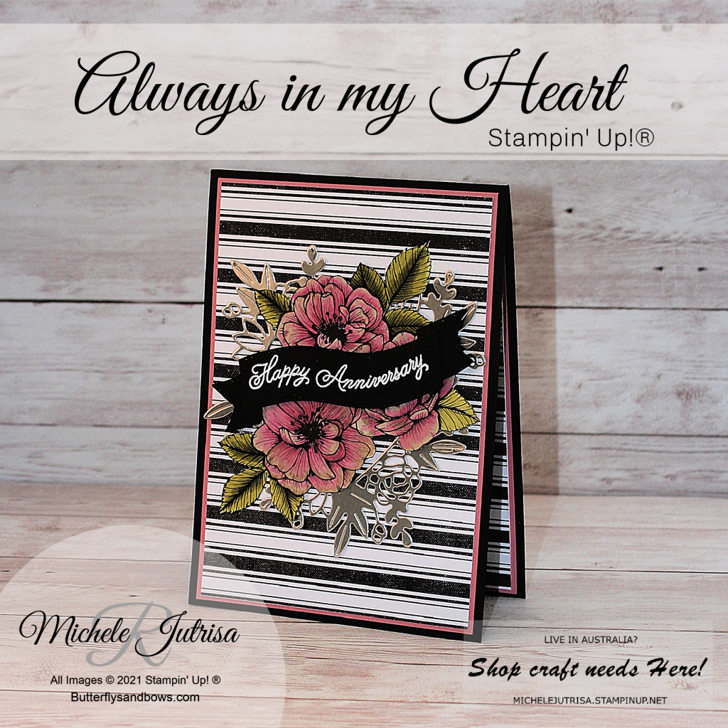 Always in my heart by Stampin' Up!