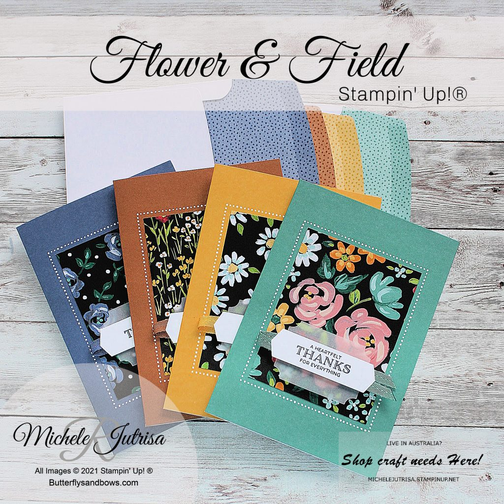 Flower & Field DSP by Stampin' Up