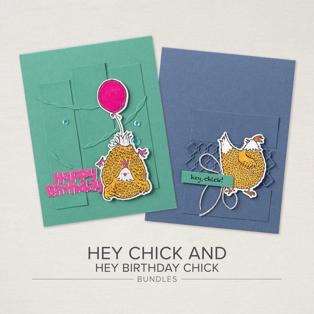 Hey Chick & Hey Birthday Chick