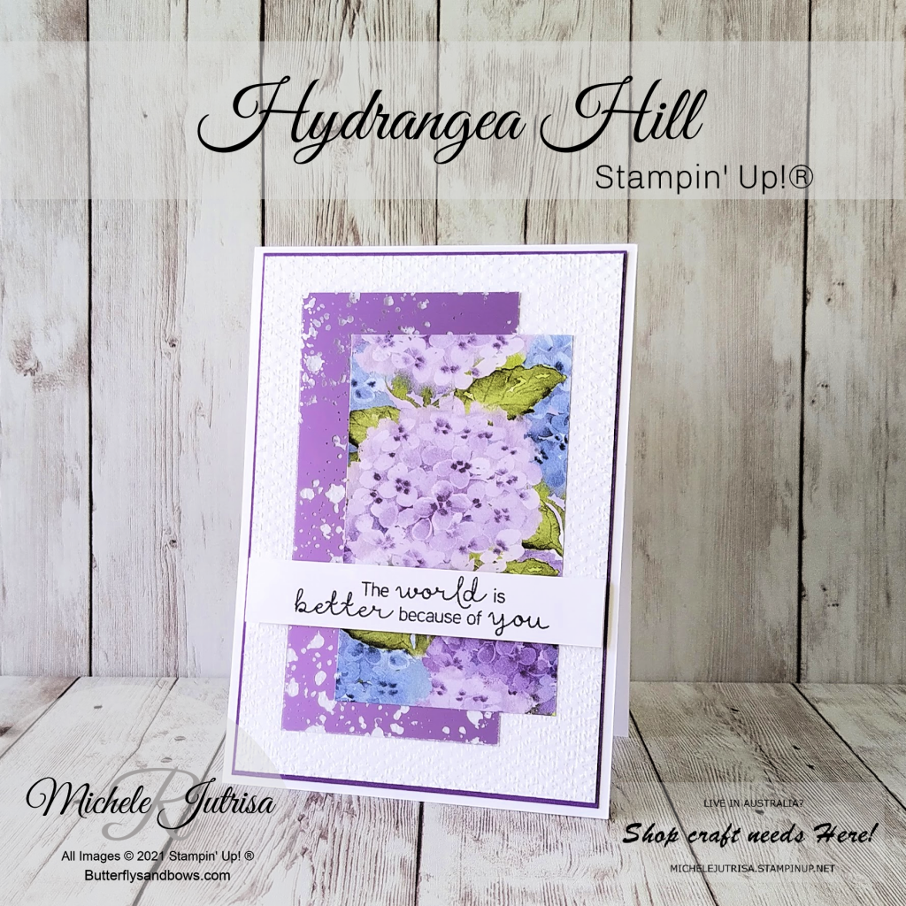 Hydrangea Hill bt Stampin' Up!