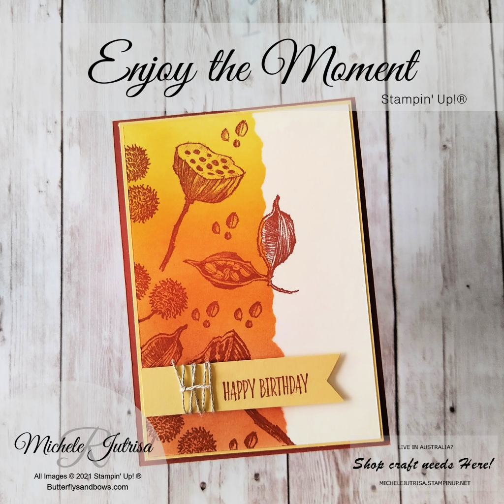 Enjoy the Moment by Stampin' Up!