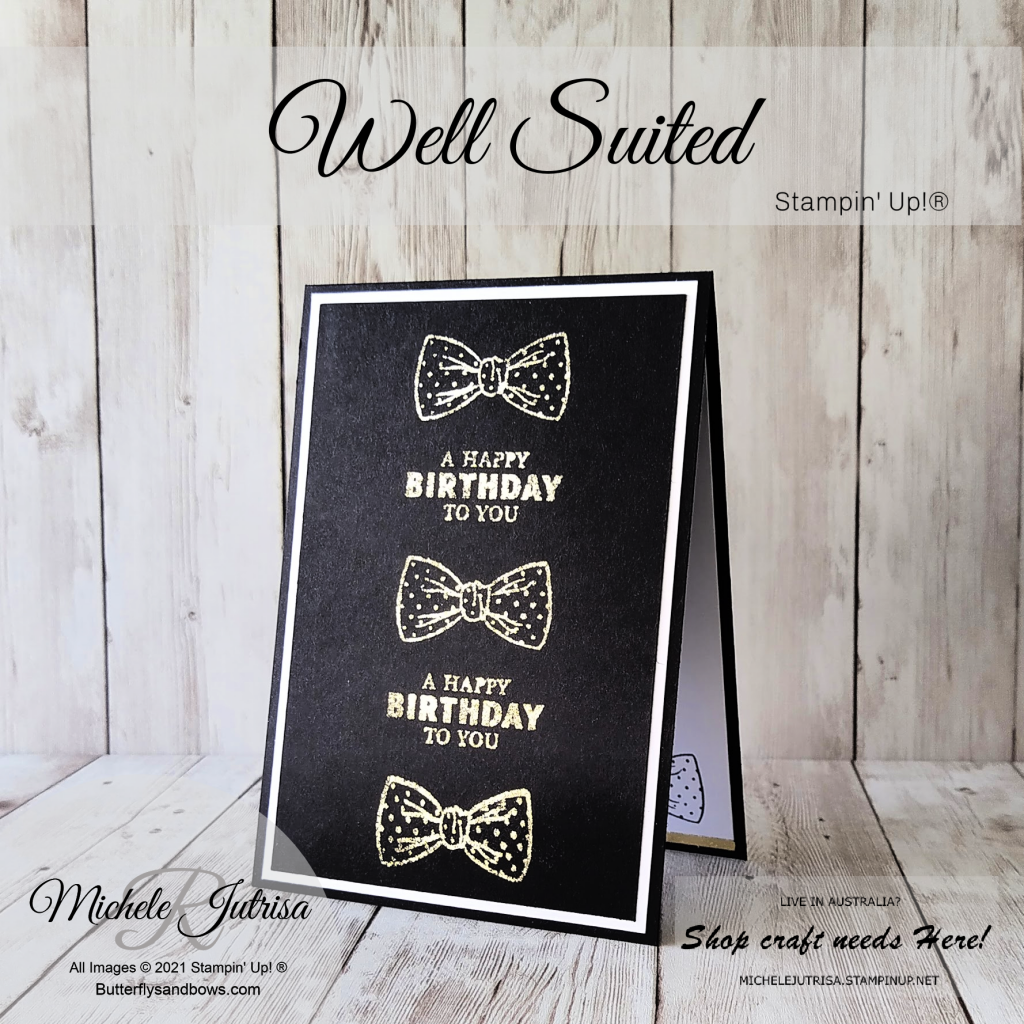 Well Suited by Stampin' Up!