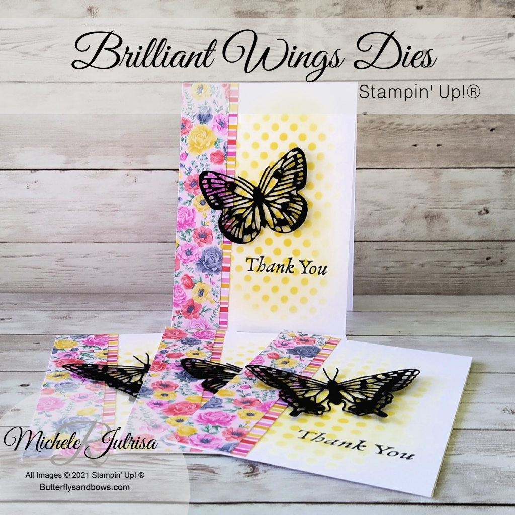 Brilliant Wings Dies by Stampin' Up!