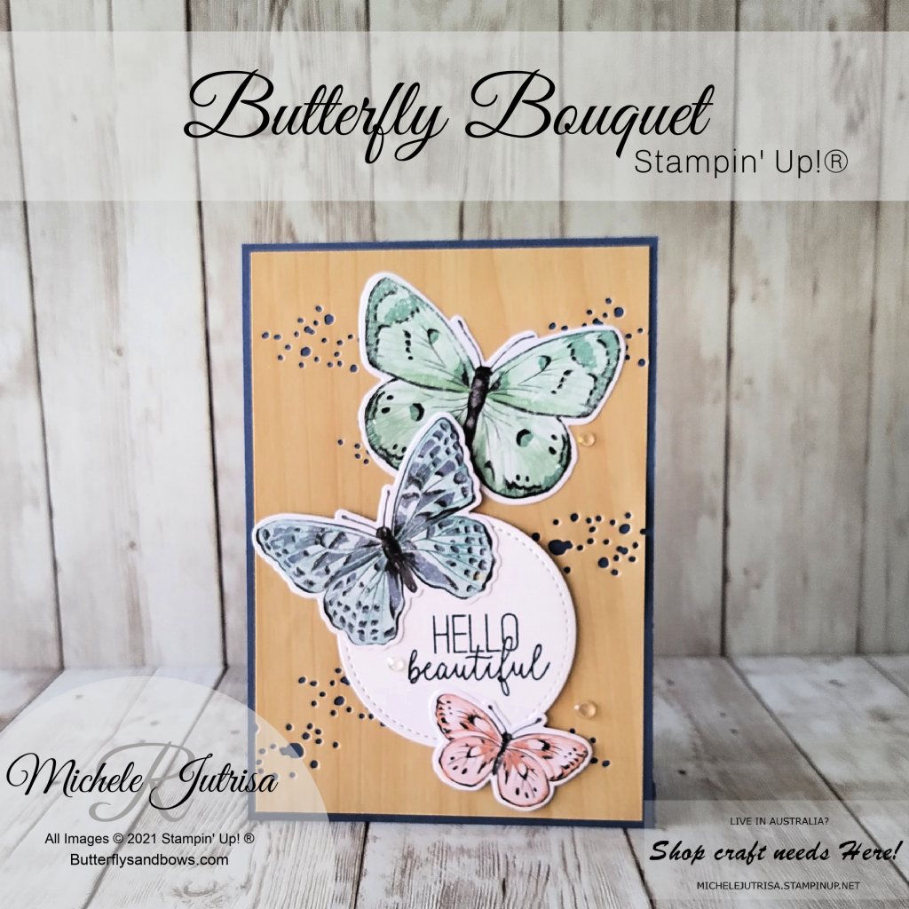 Butterfly Bouquet, Butterfly Brilliance Collection by Stampin' Up!