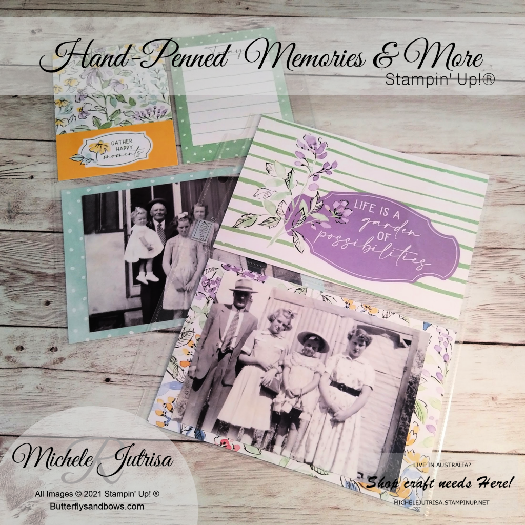 Hand-Penned Memories and More Cards, Cards and Envelopes by Stampin' Up!