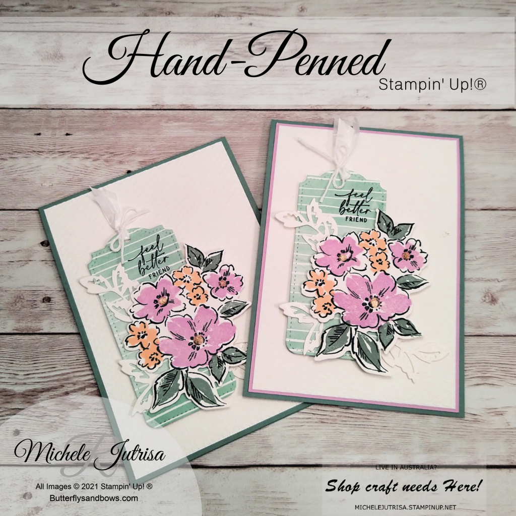 Haned-Penned by Stampin' Up! Products from Pre-order 2021-22 Catalogue