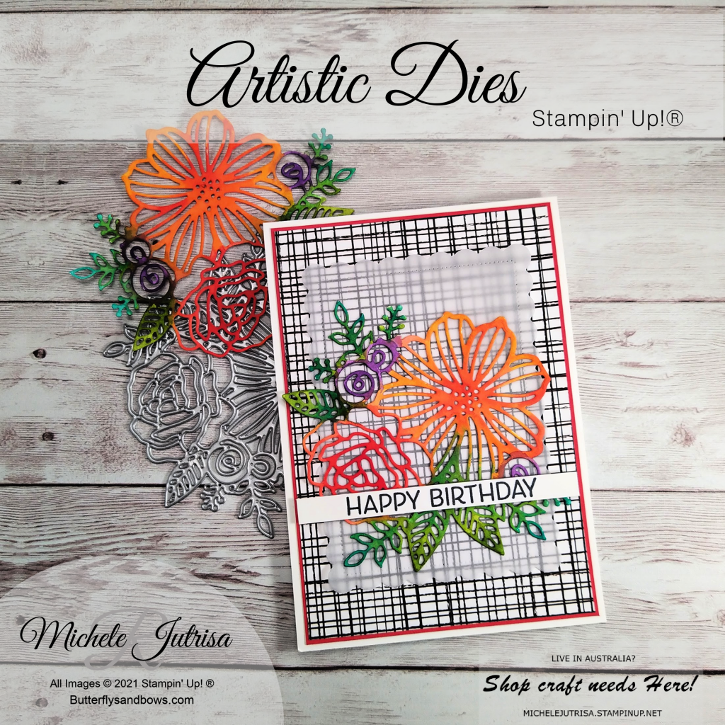 Artistic Dies by Stampin' Up!