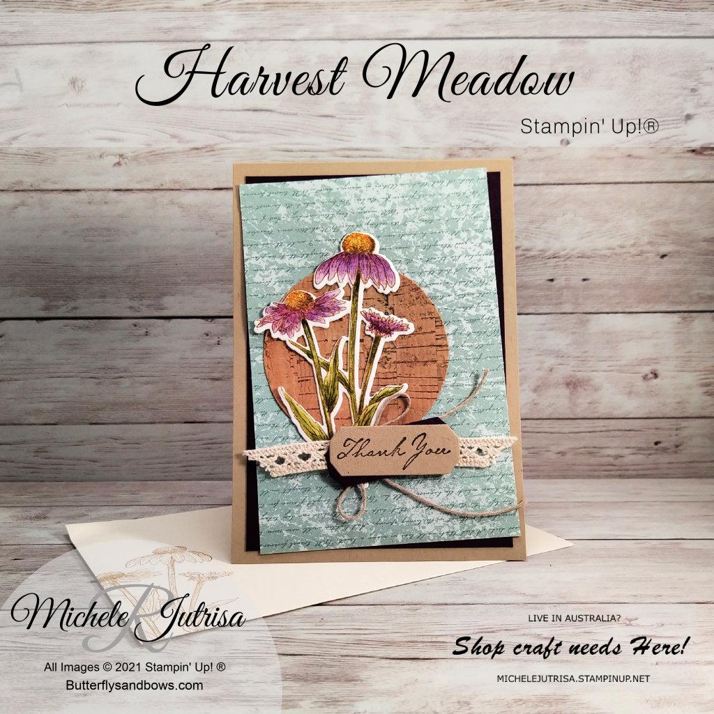 Harvest Meadow by Stampin' Up! July- December Mini Catalogue 2021