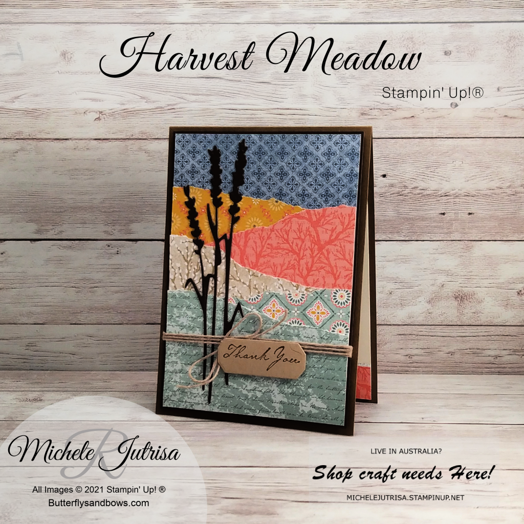 Harvest Meadow Suite By Stampin' Up!®2021 July December mini Catalogue