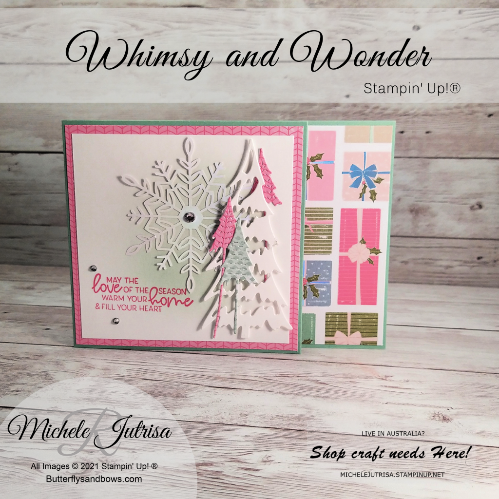 Whimsy and Wonder Suite from the Stampin' Up!® Jul- Dec Mini Catalogue